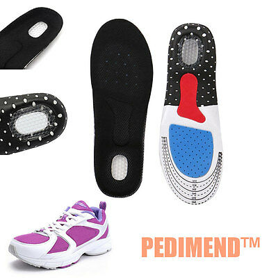 PEDIMEND™ Sports Insoles Best Orthotic Arch Support Gel Heel Flat Feet Insert