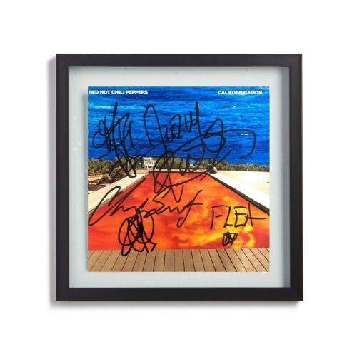 Red Hot Chili Peppers Fully Signed By All Members CALIFORNICATION Album Print