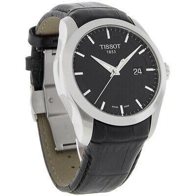 Tissot Couturier Mens Black Swiss Automatic Watch T035.410.16.051.00