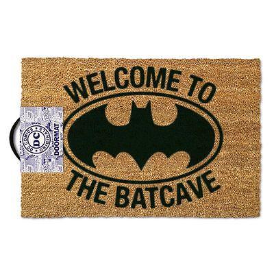 Dc Logo de Batman Felpudo Bienvenida Oficial Nuevo 60 X 40cm Fibra Coco PVC segunda mano  Embacar hacia Argentina