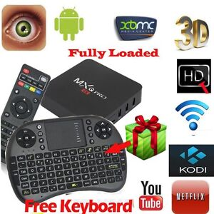 MXQ Pro Android TV Box, 4K-TV Compatible - $130