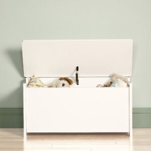 Toy box, white laminate