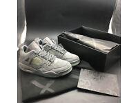 """KAWS x Nike Air Jordan Retro 4 """"Cool Grey"""" graffiti master"""