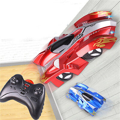 Wall Climbing Climber Rc Racer Radio Remote Control Racing Car Toy Kid Boys Gift