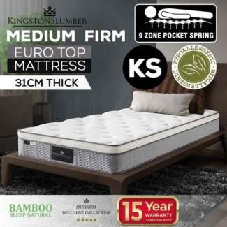 Brand new King single mattress