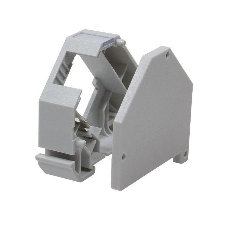 Hutschienenadapter zur Aufnahme von 1x RJ45 Keystone Jack  LogiLink®  MP0053