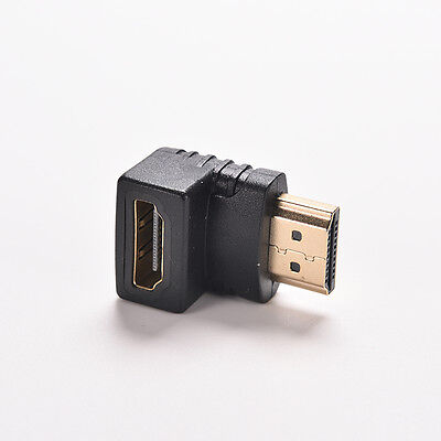 Right Angle hdmi Cable Adapter Male to Female TV Connector 270 90 Degree  X