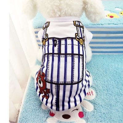 Cute Pet Clothes Dog Puppy Cotton Sport Vest T-Shirt Doggy Costume Outfit (Cute Dog Outfit)