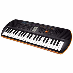 Casio sa-76  44key Electric Keyboard  -New in box