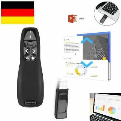 Wireless Presenter mit Fernbedienung Präsentation Laserpointer für Power Point