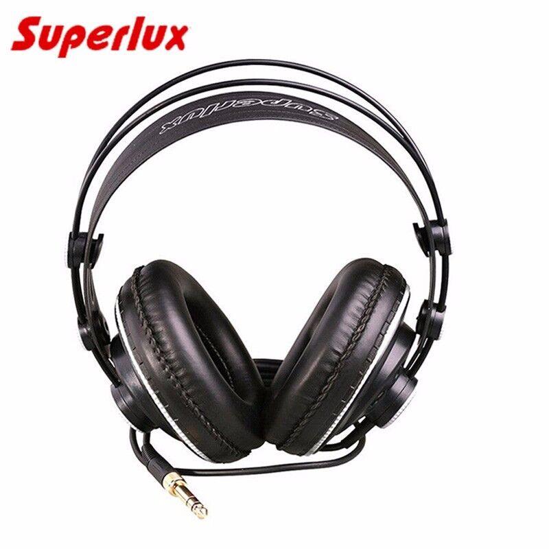 Superlux HD681B Headphones Wired Over Ear Semi Open Dynamic
