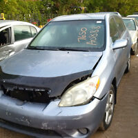 2005 Toyota Matrix just arrived for parts at Pic N Save!