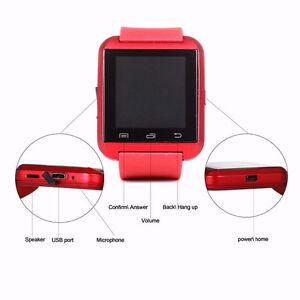 Montre smart bluetooth androïde smart watch neuve Saguenay Saguenay-Lac-Saint-Jean image 3