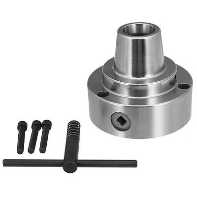 Plain Back 5c Collet Chuck Lathe Clip Machine With 3 Screws Torsion Head Tools