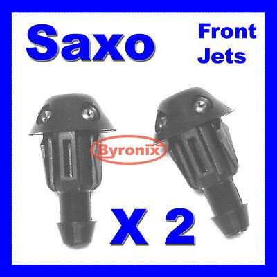 CITROEN SAXO FRONT WINDSCREEN WASHER JET JETS X 2  - 643871