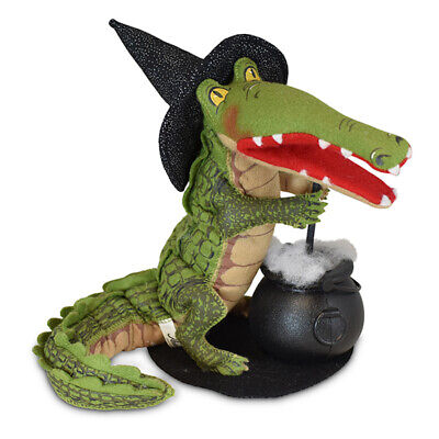 Annalee Dolls 2019 Halloween 8in Hocus Pocus Alligator Witch Plush New with Tag](Annalee Dolls Halloween)