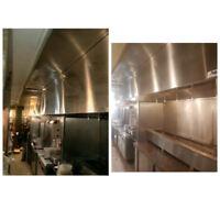 Restaurant Exhaust Hood Cleaning