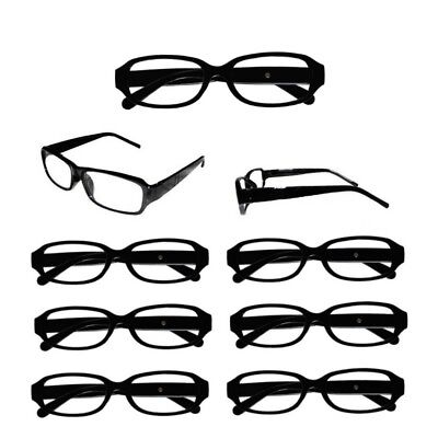 SPAR SET Herren Damen Lesebrille Lesehilfe Sehhilfe Brille mit Rahmen Schwarz