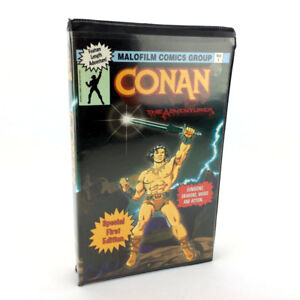 Conan The Adventurer VHS Video Tape Vintage Special 1st Edition