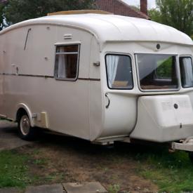 Cheltenham Fernden Puku 2 berth vintage classic caravan
