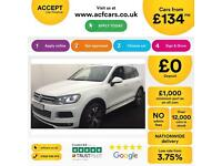 Volkswagen Touareg FROM £134 PER WEEK!