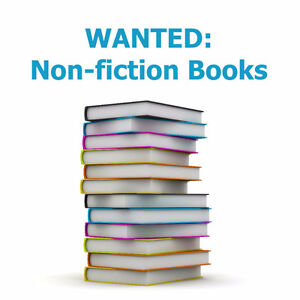 Wanted- Non Fiction Books