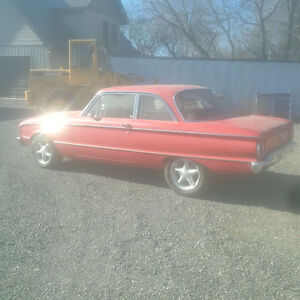 1961 Ford Falcon, 302 auto, 4 wheel disc brakes.