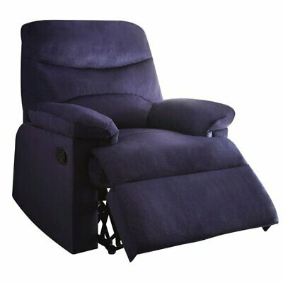 ACME Arcadia Woven Recliner in Blue