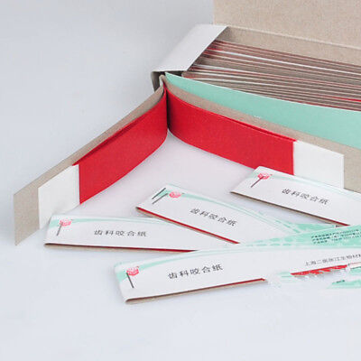Practical Dental Articulating Paper Soft Thin Strips Scratch 10 Sheet 20 Book