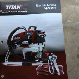 Titan Impact 440  Electric Airless Sprayer - Brand New in box