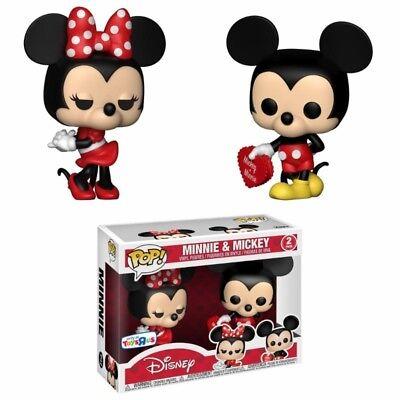 Funko POP! Disney: Minnie Mouse & Mickey Mouse