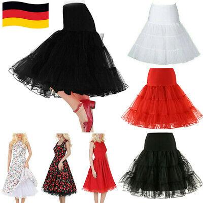 icoat Lolita Tüllrock Ballett Krinoline Unterrock Rockabilly (Damen Petticoat)