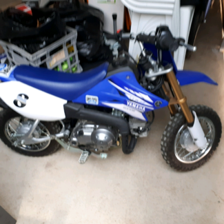 Yamaha ttr 50 3 speed Junction Village Casey Area Preview