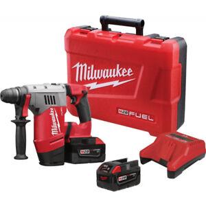 Milwaukee M28 FUEL Cordless Rotary Hammer Kit w /warranty $349