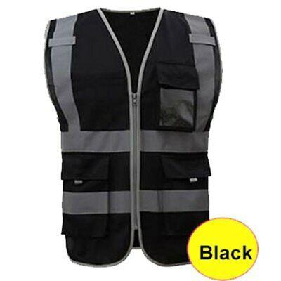 Safety Reflective Vest Construction Vest Safety Work Vest Multi Pocket Vest
