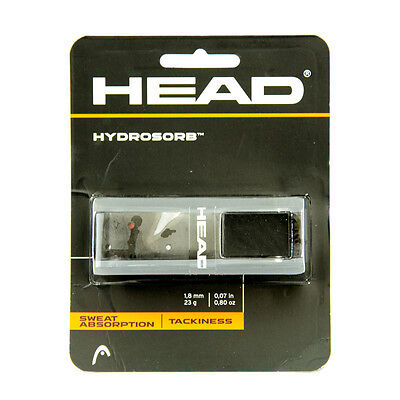 *NEU*Head Hydrosorb Basisgriffband grip Tennis Basic schwarz comfort tacky black