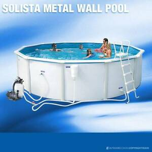 Poolscape 12ft Solista Steel Wall Pool (New) Mount Waverley Monash Area Preview