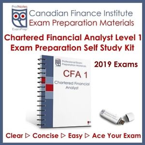 CFA Kaplan Schweser Level 1 2019 Study Laval / North Shore