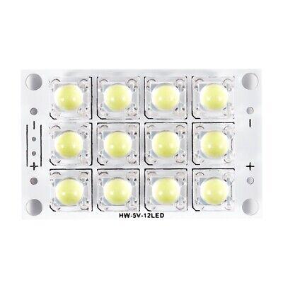 New Dc 3v 5v 12 Led Super Bright White Piranha Led Circuit Board Led Lights V5k3