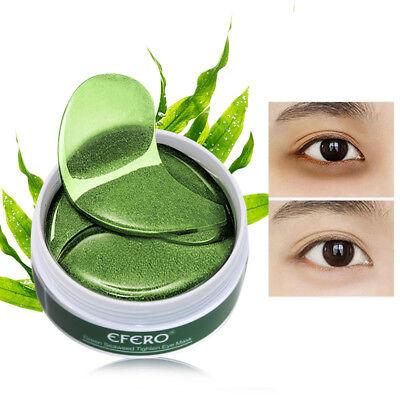 60Pc Collagen Eye Mask Pads Mask For Dark Circles Anti-aging Wrinkles Eye Bags