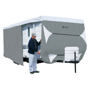 Polypro III Deluxe Grey Travel Trailer Cover