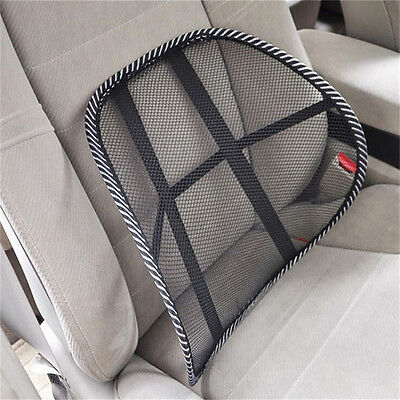Vent Massage Cushion Mesh Back Lumber Support Office Chair Desk Car Seat Pad H P