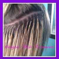 Fusion Hair Extension Installation  $1 per strand