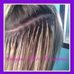 Fusion Hair Extension Installation  $1 per strand Kitchener / Waterloo Kitchener Area image 1