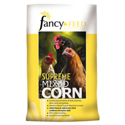 Fancy Feeds Supreme Mixed Corn Poultry Treat 20kg Bird Food