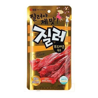 [Sempio] Cheer Beef Seasoned Jerky Beer Drink Korean Food Nutrition Snack 70 g