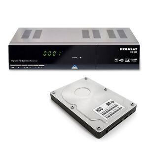 Megasat Twin-Satelliten-Receiver HD 935 Twin, inkl. 500 GB 2,5