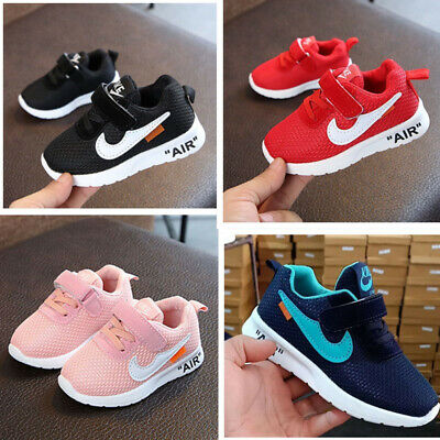 KIDS BABY INFANTS TRAINERS BOYS GIRLS SPORT RUNNING SHOES TODDLER SHOCK AIR SIZE