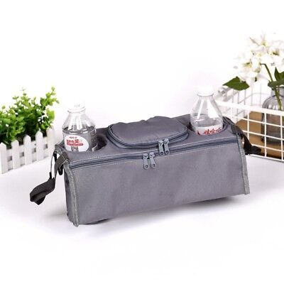 NEW GREY STOKKE  Infant Baby Stroller Cup Holder Organizer Wipes Diaper Phone