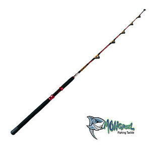 Game Rod 6FT Full Roller Fishing Rod 40-60 LB Line Boat Rod Pelagic